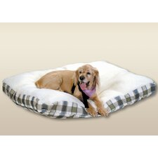Economy Pet Bed with Sherpa Top