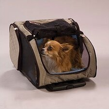 <strong>Snoozer Pet Products</strong> Wheel Around Travel Pet Carrier