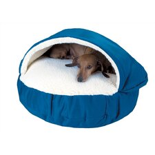 Cozy Cave Hooded Dog Bed