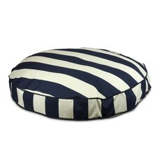 Pool and Patio Round Vertical Dog Pillow