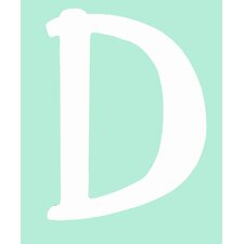 "Capital Letters ""D"" Wall Art"