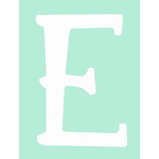 "Capital Letters ""E"" Wall Art"