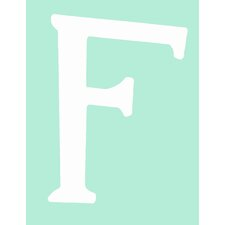 "Capital Letters ""F"" Wall Art"