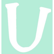 "Capital Letters ""U"" Wall Art"
