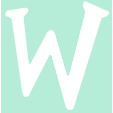 "Capital Letters ""W"" Wall Art"