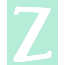 "Capital Letters ""Z"" Wall Art"