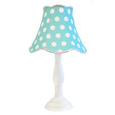 """Pixie Baby 21"""" H Table Lamp with Bell Shade"""