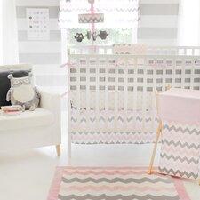 Chevron Baby Polka Dot Crib Sheet