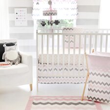 Chevron Baby Crib Bedding Collection