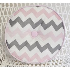 Chevron Baby Circular Floor Pillow