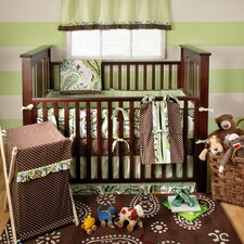 Paisley Splash 4 Piece Crib Bedding Set