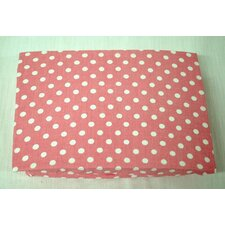 Paisley Splash Dot Crib Sheet