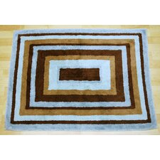 Mad About Blue/Brown Plaid Area Rug