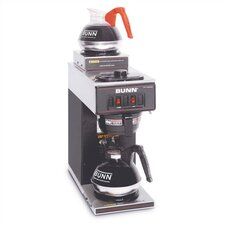 <strong>Bunn</strong> 12-Cup Two-Station Commercial Pour-O-Matic Coffee Brewer