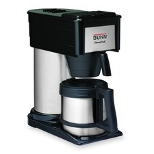 "Home Brewer, 10-Cup, 7-1/10""x13-4/5""x14-1/3"", BK/STST"