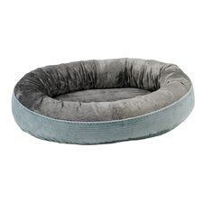 <strong>Bowsers</strong> Plush Orbit Donut Dog Bed