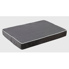 Isotonic Plat Microvelvet Dog Foam Mattress