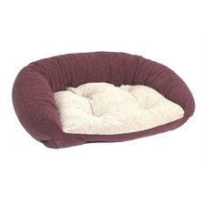 Reversible Lounger Bolster Dog Bed