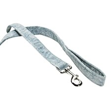 Stylish Triple Paisley Blue Layer Dog Leash