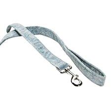 Stylish Triple Paisley Blue Layer Dog Leash