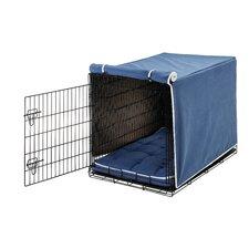 Luxury Plat Microvelvet Dog Crate Cover