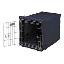 Luxury Diam Cotton Dog Crate Cover