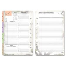Blooms Garden Classic Daily Planner Refill