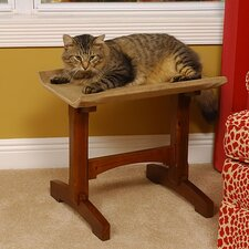 <strong>Mr. Herzher's</strong> Craftsman Series Single Seat Wooden Cat Perch