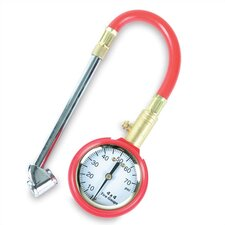 Swivel Dual Foot with Hose and 2 in. Dial Gauge