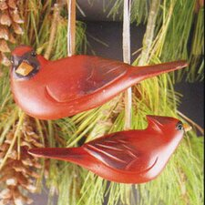 Two Cardinals Ornament (Set of 2)