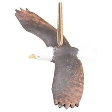 "5"" Flying Eagle Ornament"