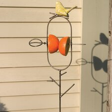 Fruit Spear Staked Decorative Bird Feeder