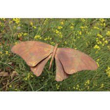 Butterfly Flamed Garden Stake