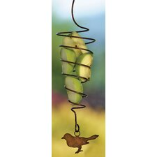 Spiral Fruit Spear Decorative Bird Feeder