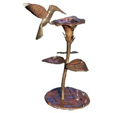 Copper Hummingbird Dripper / Fountain