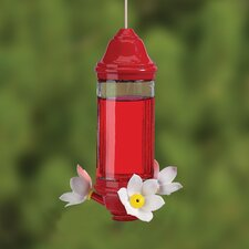 Crystal Lantern Hummingbird Feeder
