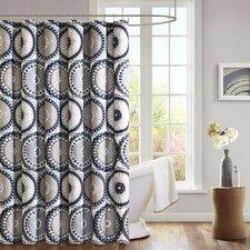 Luka Microfiber Shower Curtain