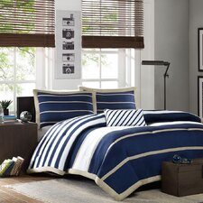 Ashton Comforter Set in Blue