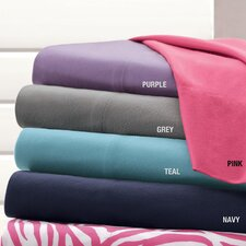 <strong>Mi-Zone</strong> Cozy Spun Solid Sheet Set