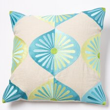 Royal Fans Linen Pillow