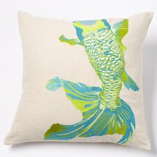 Whole Baby Fish Linen Pillow