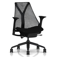 Sayl Executive Chair in Black