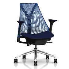 Sayl Executive Chair in Blue Berry