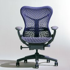 <strong>Herman Miller ®</strong> Mirra Executive Chair in Blue Fog