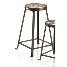 "Metal Tufted 26"" Bar Stool"