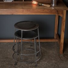 "Iron 17"" Bar Stool (Set of 2)"