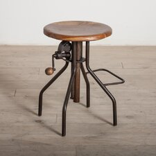 "<strong>Wildon Home ®</strong> 19"" Adjustable Bar Stool"