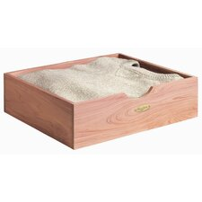 Shirt / Sweater Box in Natural Cedar Finish