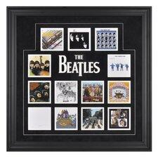 The Beatles 'U.K. Album Covers' Framed Memorabilia