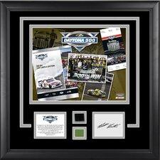 NASCAR 2012 Daytona 500 Champion Framed Memorabilia